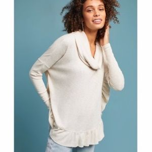 Anthropologie   Orley Ruffled Sweater size M/L